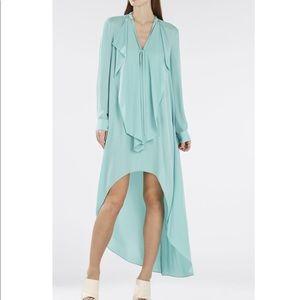 BCBG Kailene High-Low Mint Green Dress